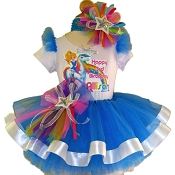 New Rainbow Brite Tutu Set