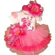 Piglet Birthday Tutu Set