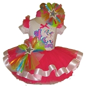 Princess Celestia Ribbon Tutu Set