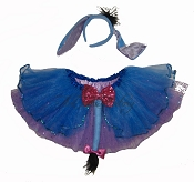 SHORT Blue DONKEY Tutu