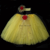 Long YELLOW BELL Tutu Basic