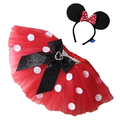 Red MINNIE MOUSE Tutu . Infant to 6X