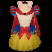 Long SNOW WHITE Tutu Costume