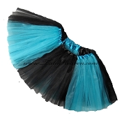 Girls to Plus Size Team Spirit Tutu TURQUOISE BLACK