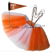 Girls Plus Size Team Spirit Tutu Set TENNESSEE V