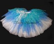 WINTER SPARKLE  Shredded Tutu LONG