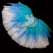 WINTER SPARKLE Shredded Tutu SHORT
