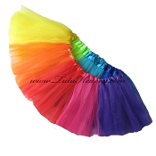 RAINBOW Tutu . INFANT to 6X