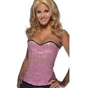 Sequin Corset Light Pink