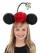 Disney Minnie Mouse Vintage Flower Hat