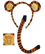 DISNEY Tigger Ears & Tail