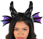 Black Dragon Plush Headband