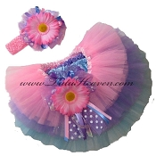 Easter Pastel Tiered Tutu Set