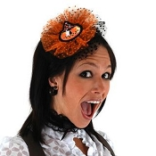 Pumpkin Fascinator Set