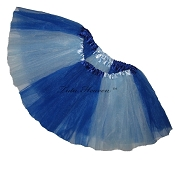Girls to Plus Size Team Spirit Tutu ROYAL LIGHT BLUE