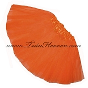 Girls Neon Orange Dark Tutu