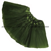 Girls to Plus Size Olive Green Tutu