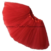 Girls to Plus Size Red Tutu