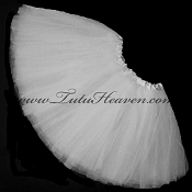Girls to Plus Size White Tutu