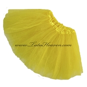 Girls Yellow Tutu