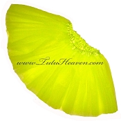 SHORT Neon Yellow Tutu