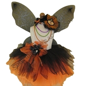 Gothic Spider Fairy Tutu Set Black Orange