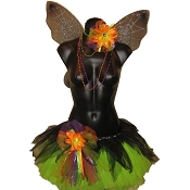 Gothic Teen Fairy Tutu Set Lime