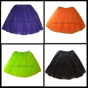 Adult Halloween Tutus Small to XXXLarge
