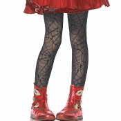 Girls Spider Web Tights