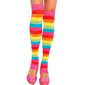Adults Rainbow Leg Warmers