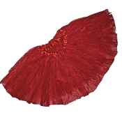 SHORT Red Lace Tutu