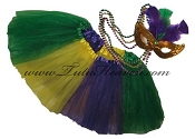 SHORT Mardi Gras Tutu SET