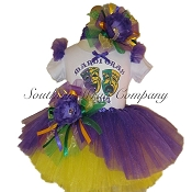 Mardi Gras Masks 2018 Scoop Tutu Set