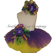 Mardi Gras Scoop Tutu Set