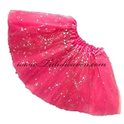 SHORT Hot Pink Sequin Tutu