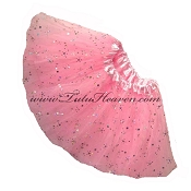 SHORT Light Pink Sequin Tutu