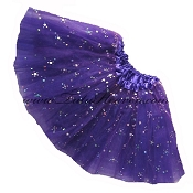 SHORT Purple Sequin Tutu