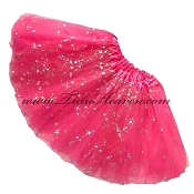 Girls Hot Pink Sequin Tutu