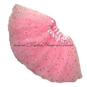 Girls Light Pink Sequin Tutu