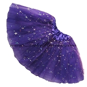 Girls Purple Sequin Tutu