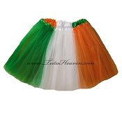 LONG St Patricks Day Flag Tutu