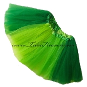 SHORT Tri Green St Patricks Day Tutu