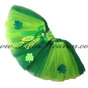 SHORT Irish Clover Tutu
