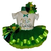 St Patricks Day Tutu Set Irish Princess
