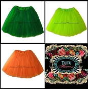 Adult St. Patricks Day Tutus XSmall to XXXLarge