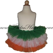 SHORT Tiered St Patricks Day Tutu