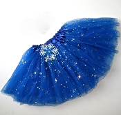 Snowflake Royal Blue Sequin Tutu