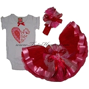 Valentines Day Infant Party Tutu Set Cutie Pie