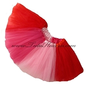Valentine Tutu . INFANT to 6X
