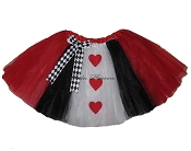 LONG Queen of Hearts Tutu